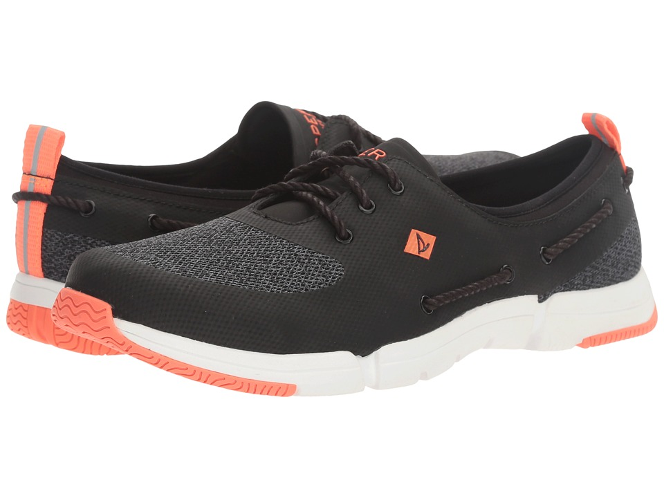Sperry Top-Sider - Ripple Rush Heathered (Black/Dark Grey) Women's Lace up casual Shoes