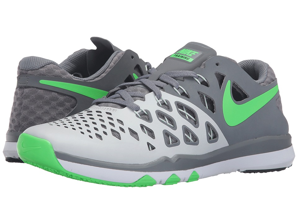 Nike - Train Speed 4 (Pure Platinum/Cool Grey/Black/Rage Green) Men's Shoes