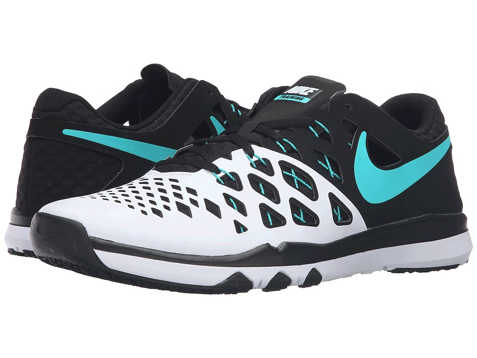 Nike - Train Speed 4 (White/BLack/Hyper Jade) Men's Shoes