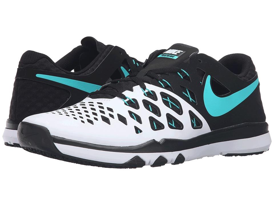 Nike - Train Speed 4 (White/BLack/Hyper Jade) Men's Shoes