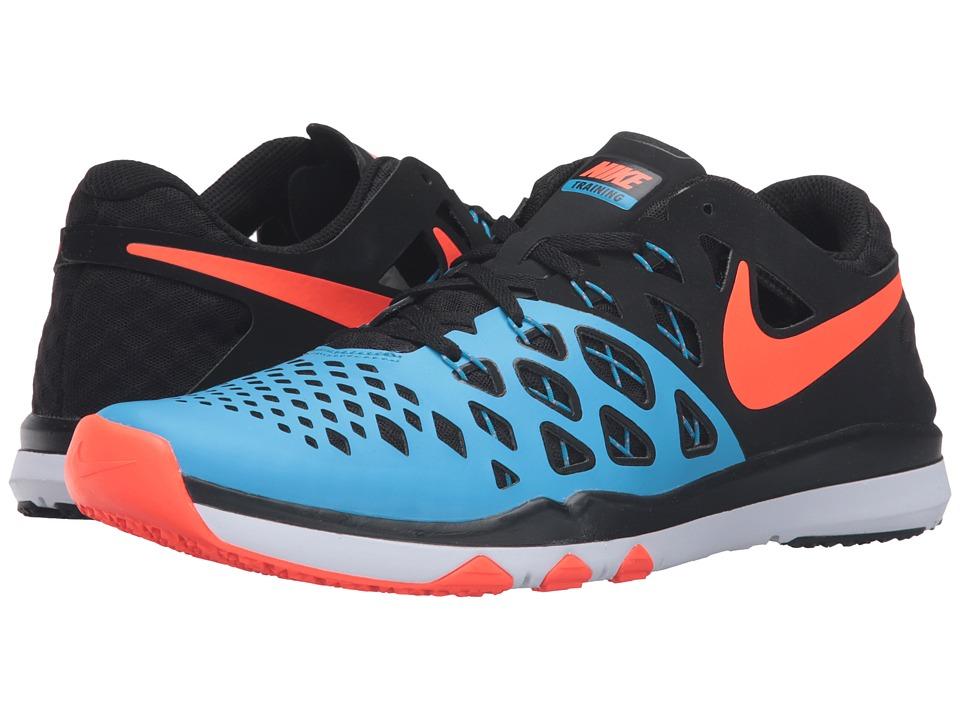 Nike - Train Speed 4 (Blue Glow/Black/Total Crimson) Men's Shoes