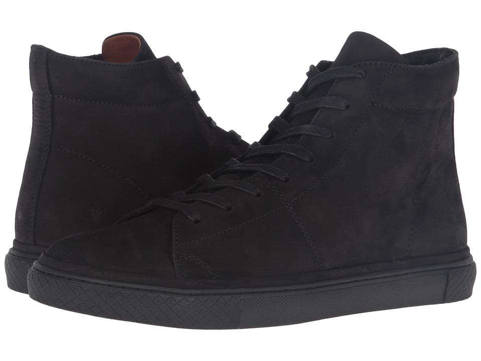 Frye Gates High (Black Soft Nubuck) Men