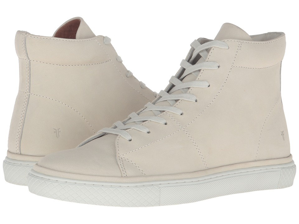 Frye - Gates High (Off-White Soft Nubuck) Men's Lace up casual Shoes