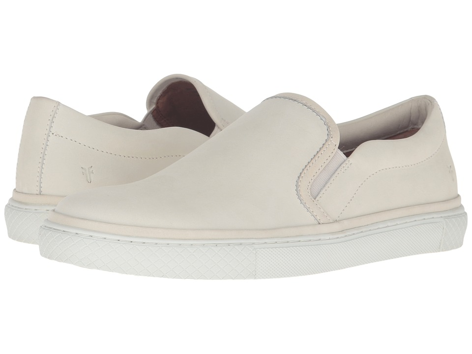 Frye Gates Slip-On (Off-White Soft Nubuck) Men