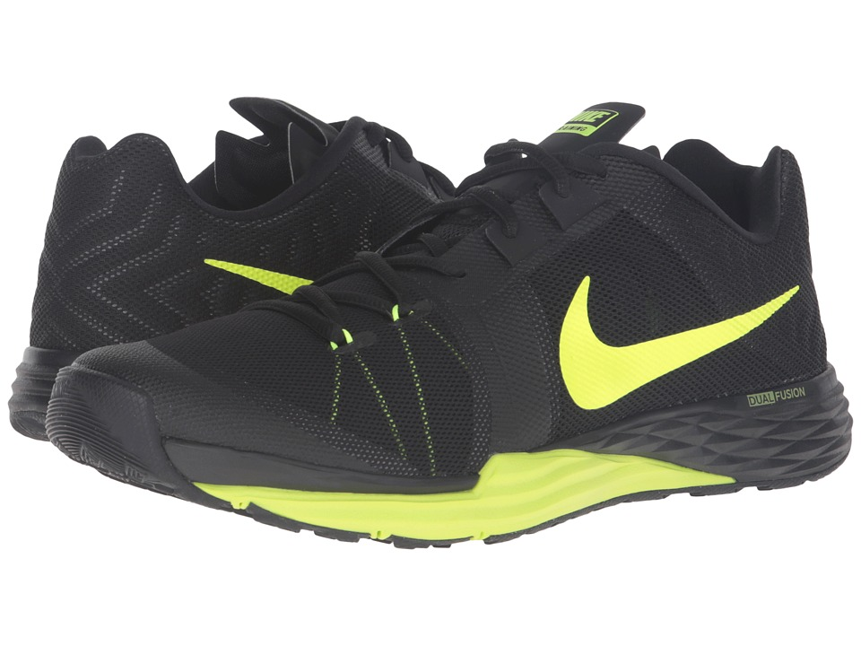 Nike - Train Prime Iron DF (Black/Cool Grey/Volt) Men's Cross Training Shoes