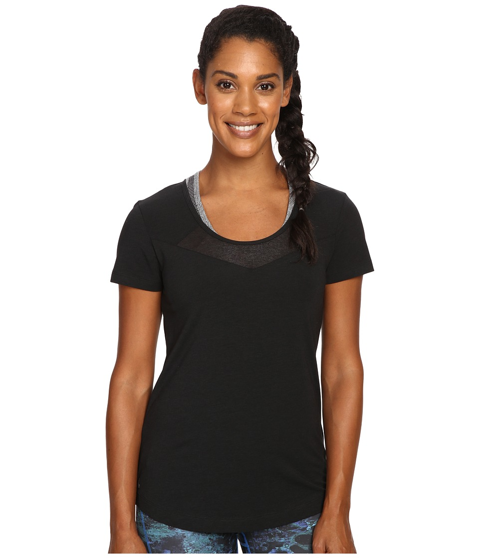 Lole Kesha Short Sleeve Top (Black) Women