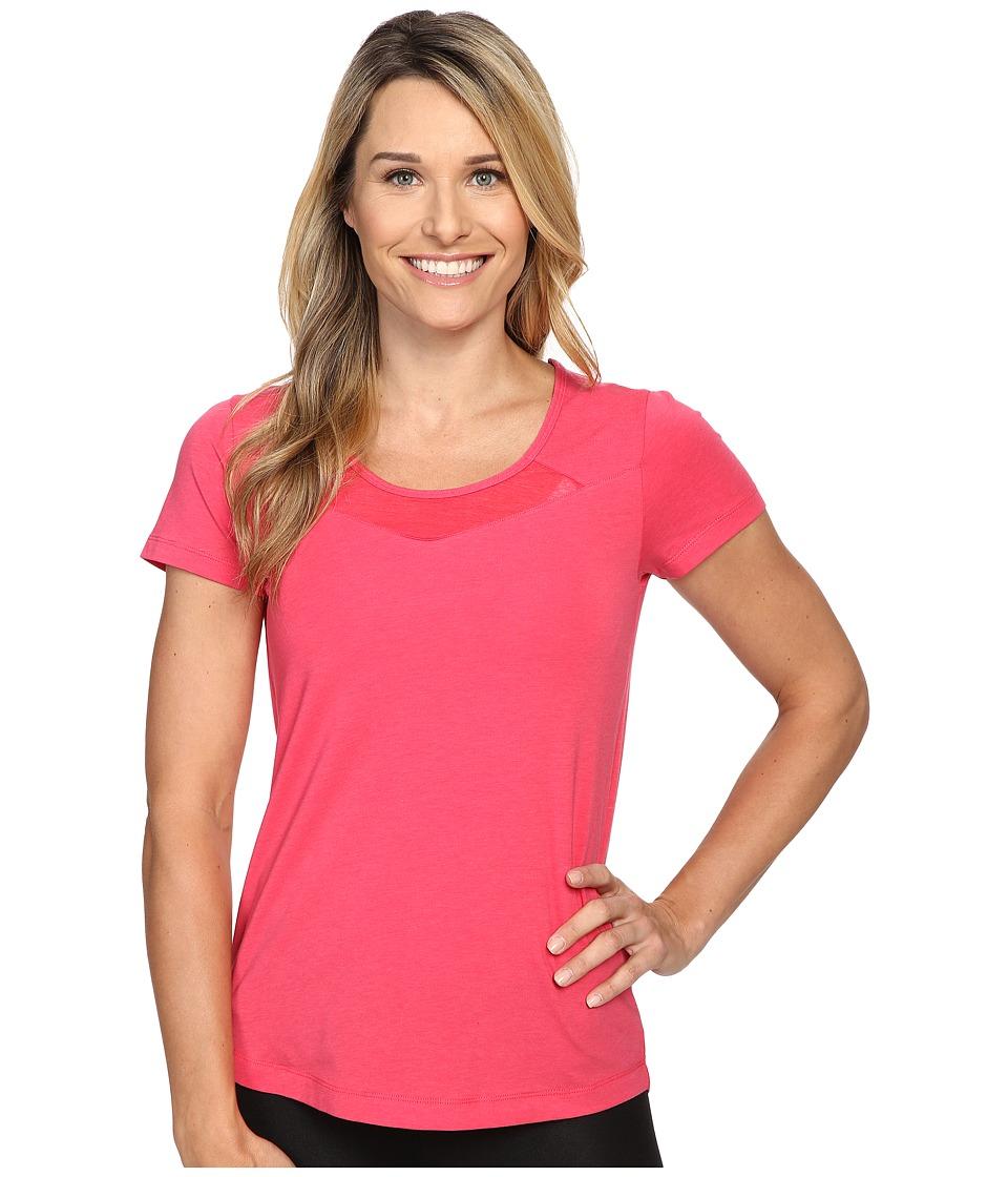Lole - Kesha Short Sleeve Top (Azalea) Women's Short Sleeve Pullover