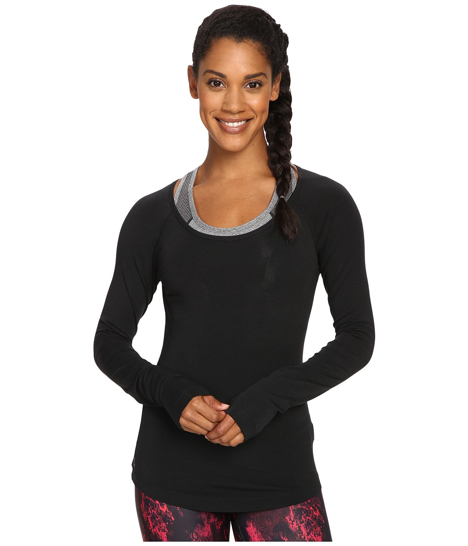 Lole - Kendra Long Sleeve Top (Black) Women's Long Sleeve Pullover
