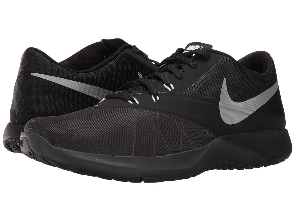 Nike - FS Lite Trainer 4 (Anthracite/Black/Cool Grey/Metallic Silver) Men's Shoes
