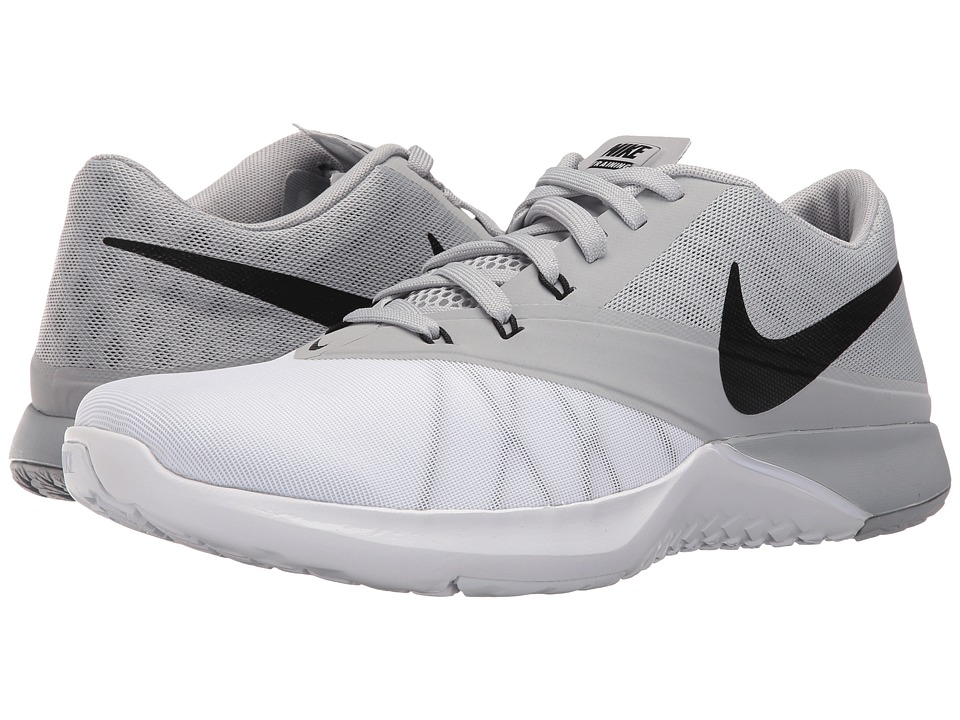 Nike - FS Lite Trainer 4 (White/Wolf Grey/Black/Black) Men's Shoes