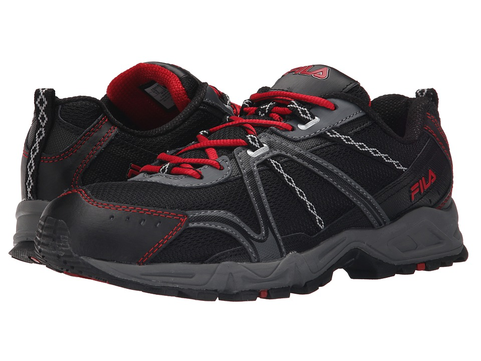 Fila Ascent 12 (Black/Castlerock/Fila Red) Men