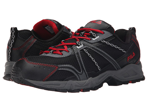 Fila - Ascent 12 (Black/Castlerock/Fila Red) Men