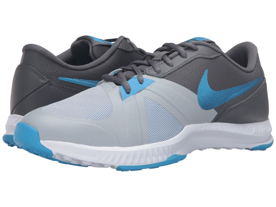 Nike - Air Epic Speed TR (Wolf Grey/Dark Grey/Cool Grey/Blue Glow) Men's Cross Training Shoes