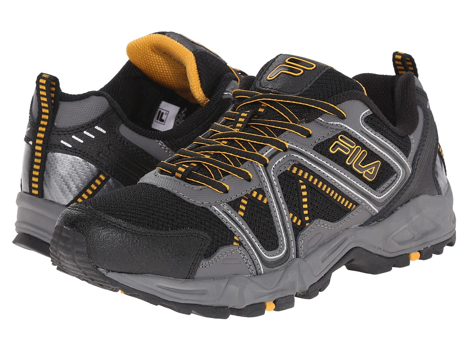 Fila - Ascente 15 (Black/Pewter/Gold Fusion) Men