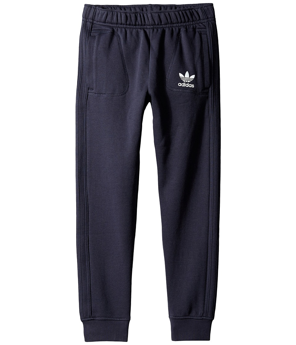 adidas Originals Kids - Young Wild Free Pants (Little Kids/Big Kids) (Legend Ink/Medium Grey Heather Solid Grey/Bluebird) Boy's Casual Pants