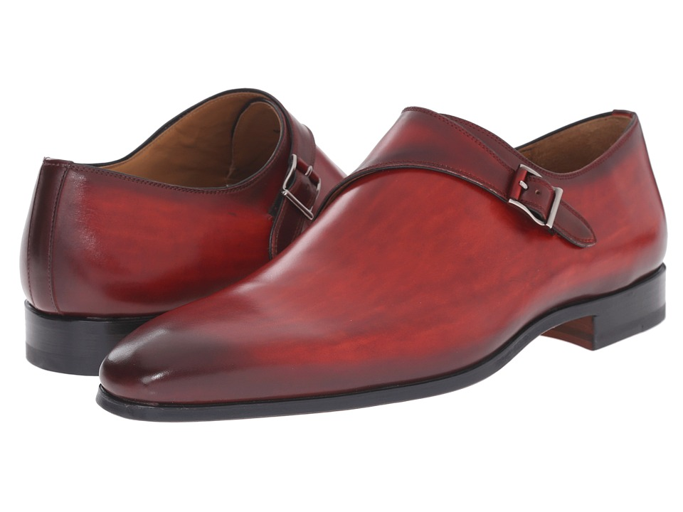 Magnanni - Jamil (Rojo) Men's Monkstrap Shoes