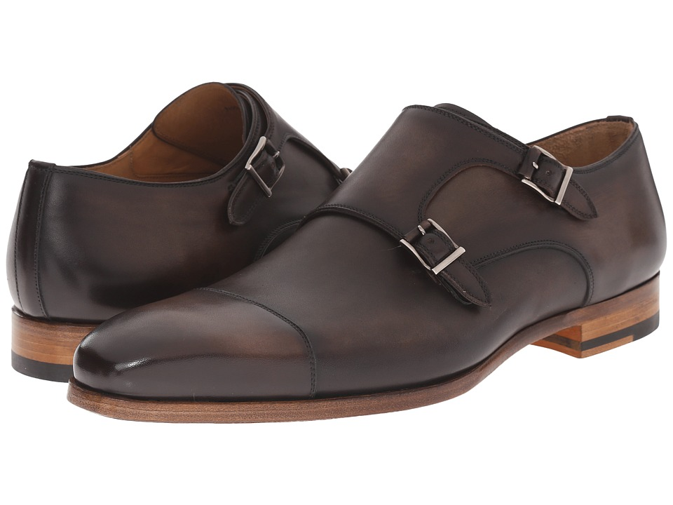 Magnanni - Kato (Brown) Men's Monkstrap Shoes