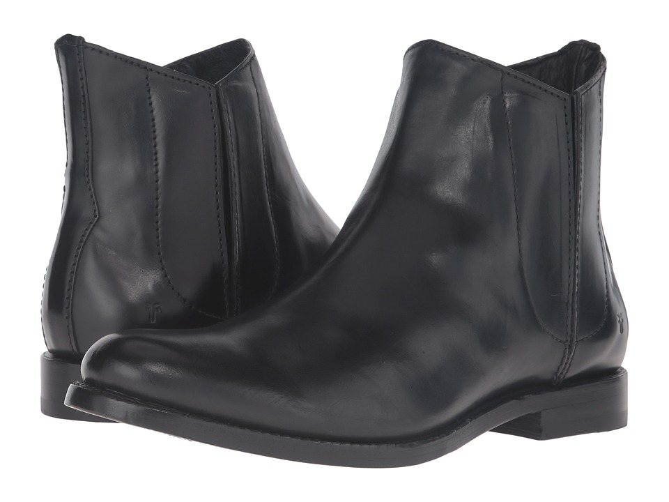 Frye Jet Chelsea (Black Smooth Veg Calf) Men