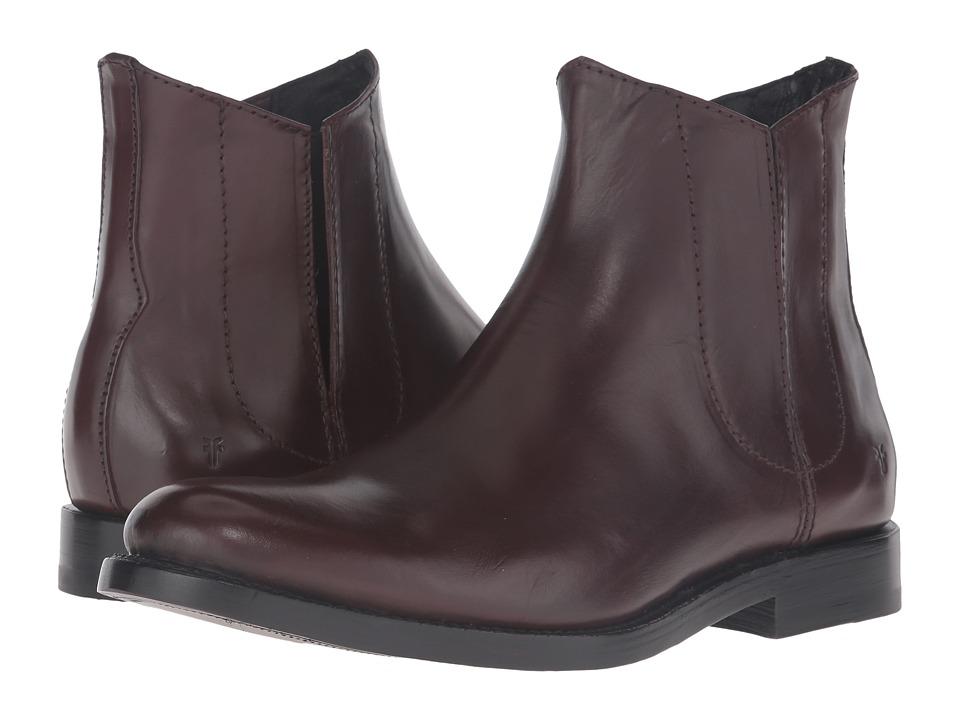 Frye - Jet Chelsea (Dark Brown Smooth Veg Calf) Men's Boots
