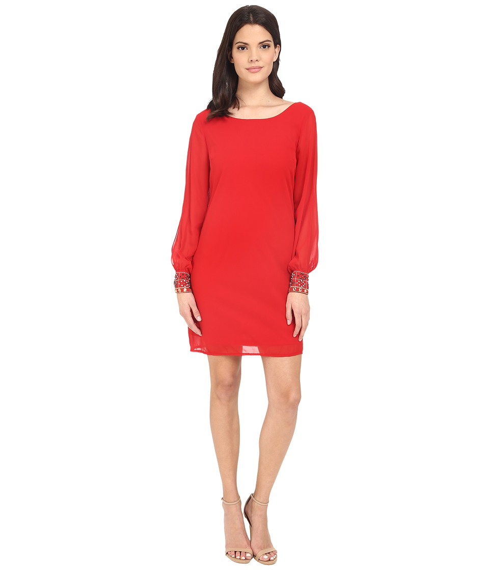 Brigitte Bailey - Gem Wrist Dress (Red) Women's Dress