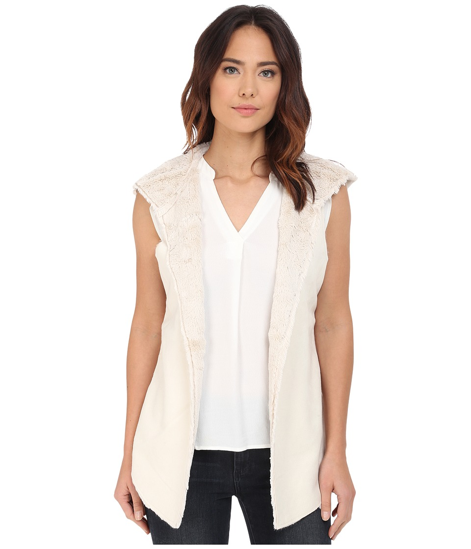 Dylan by True Grit - Reversable Vest (Winter White) Women's Vest