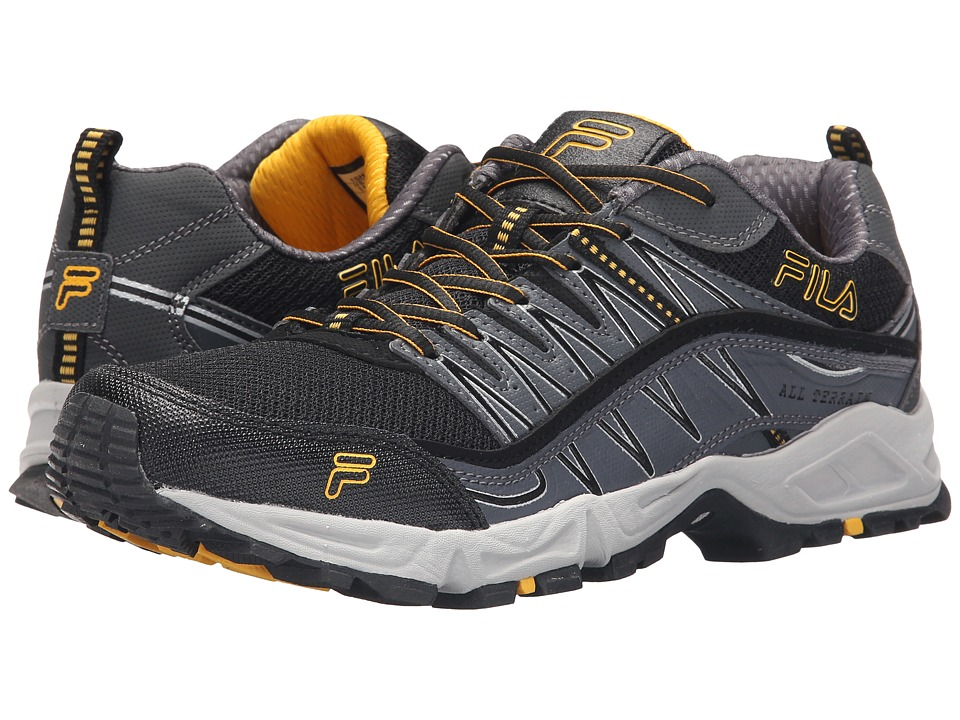 Fila - At Peake (Black/Castlerock/Gold Fusion) Men