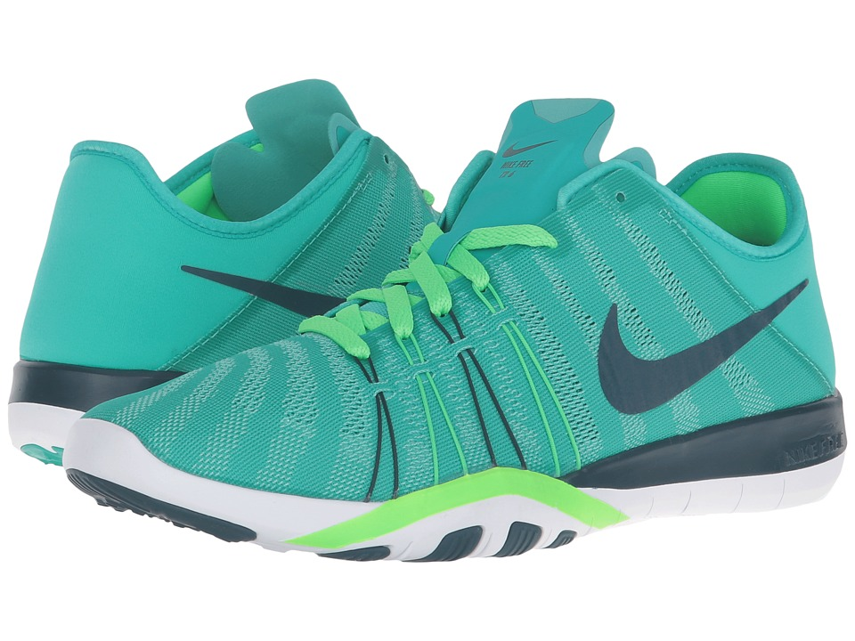 Nike - Free TR 6 (Clear Jade/Rage Green/White/Midnight Turquoise) Women's Cross Training Shoes