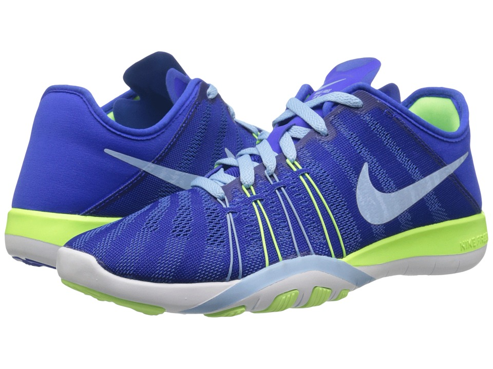 Nike - Free TR 6 (Racer Blue/Ghost Green/White/Bluecap) Women's Cross Training Shoes