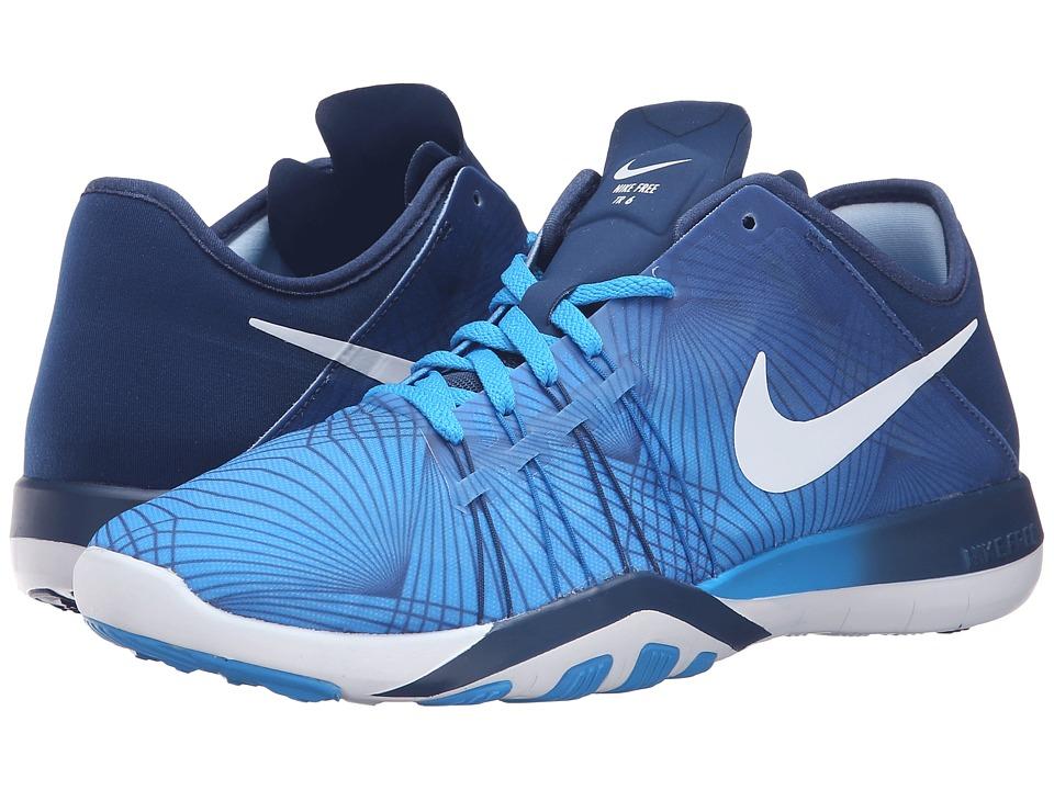 Nike - Free TR 6 PRT (Blue Glow/Coastal Blue/White) Women's Cross Training Shoes