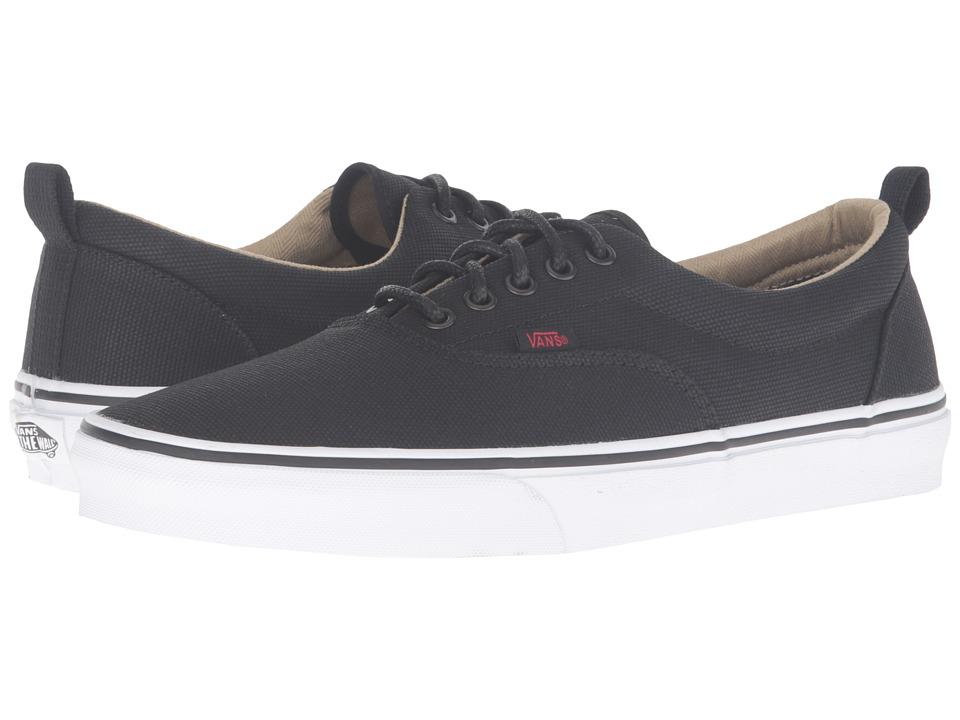Vans - Era PT ((Military Twill) Black/True White) Skate Shoes