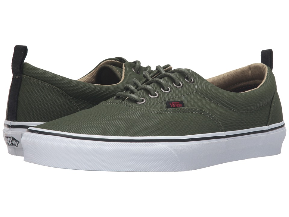 Vans - Era PT ((Military Twill) Rifle Green/True White) Skate Shoes