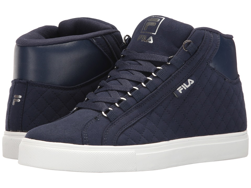 Fila - Oxidize 2 (Fila Navy/White/Metallic Silver) Men's Shoes
