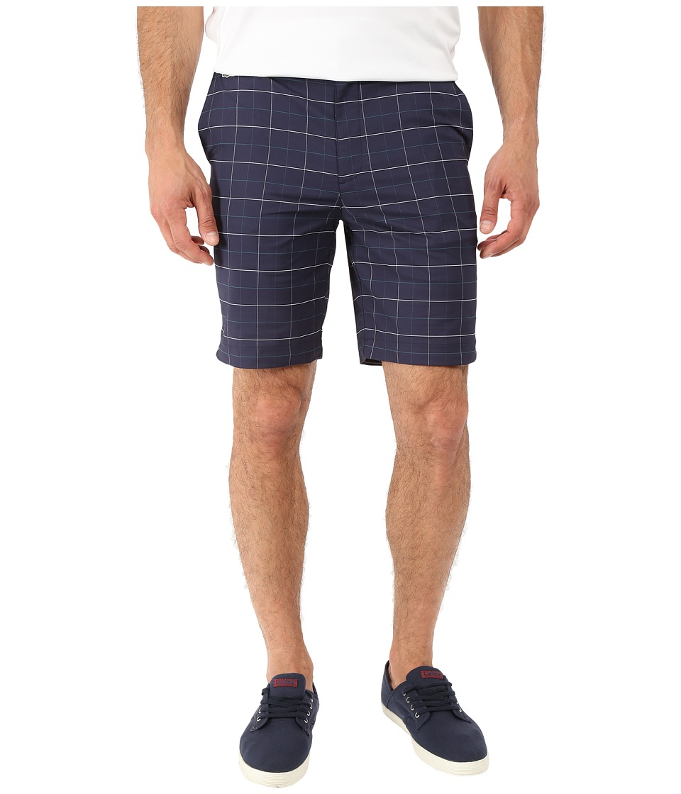 Lacoste - SPORT Ultra Dry Stretch Gabardine Golf Bermuda Short (Navy Blue/White/Duck) Men's Shorts