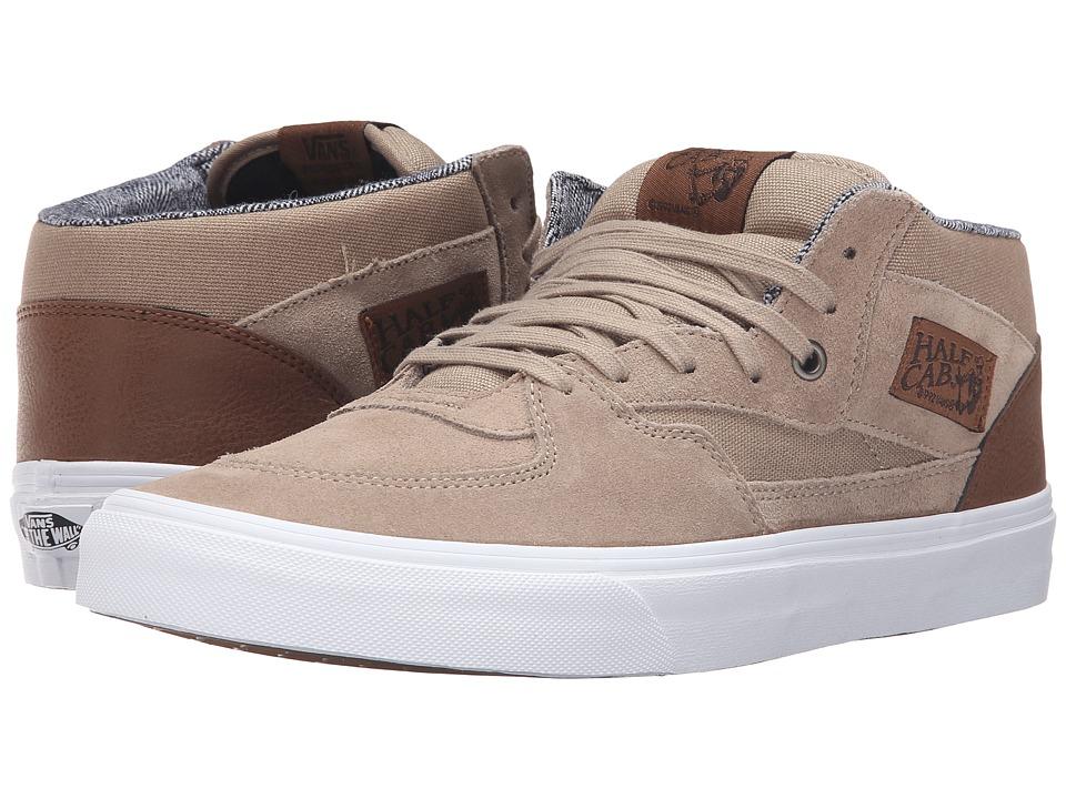 Vans - Half Cab ((C&L) Silver Mink/True White) Skate Shoes