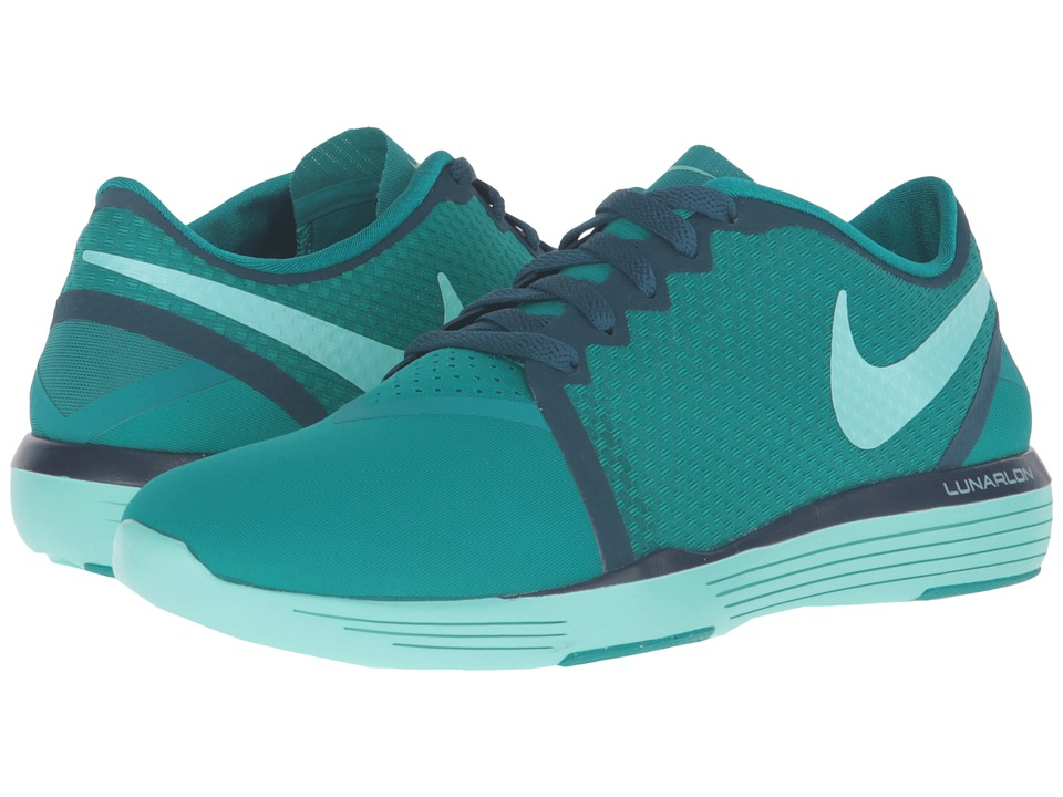 Nike - Lunar Sculpt (Rio Teal/Midnight Turquoise/Hyper Turquoise) Women's Cross Training Shoes