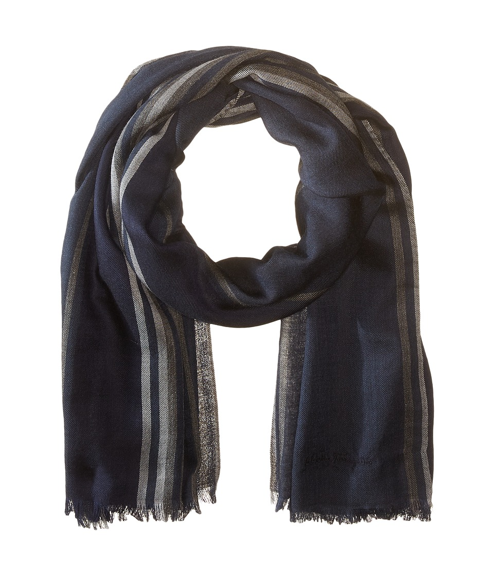 Salvatore Ferragamo - St Billi Scarf - 526555 (Night) Scarves