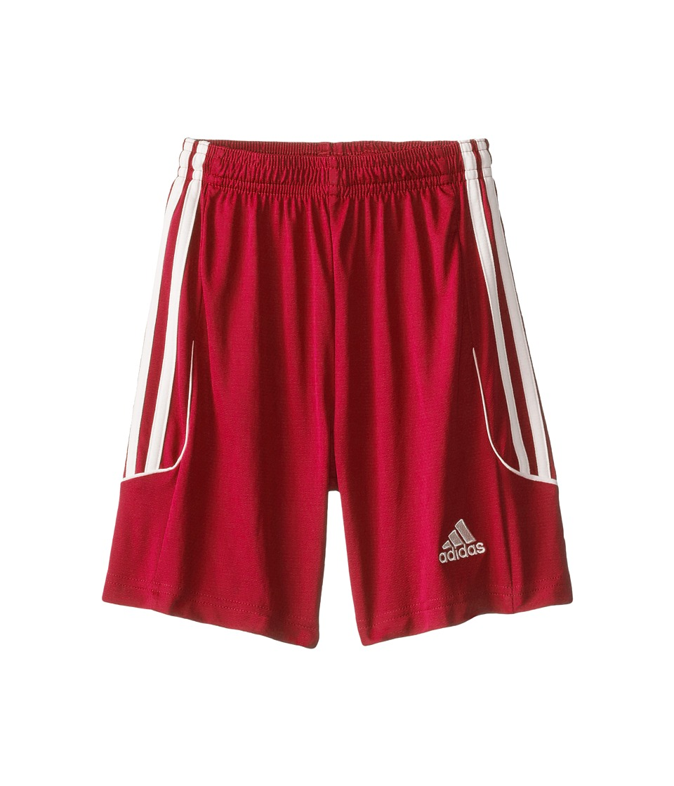 adidas Kids - Squad 13 Shorts (Little Kids/Big Kids) (University Red/White) Kid's Shorts