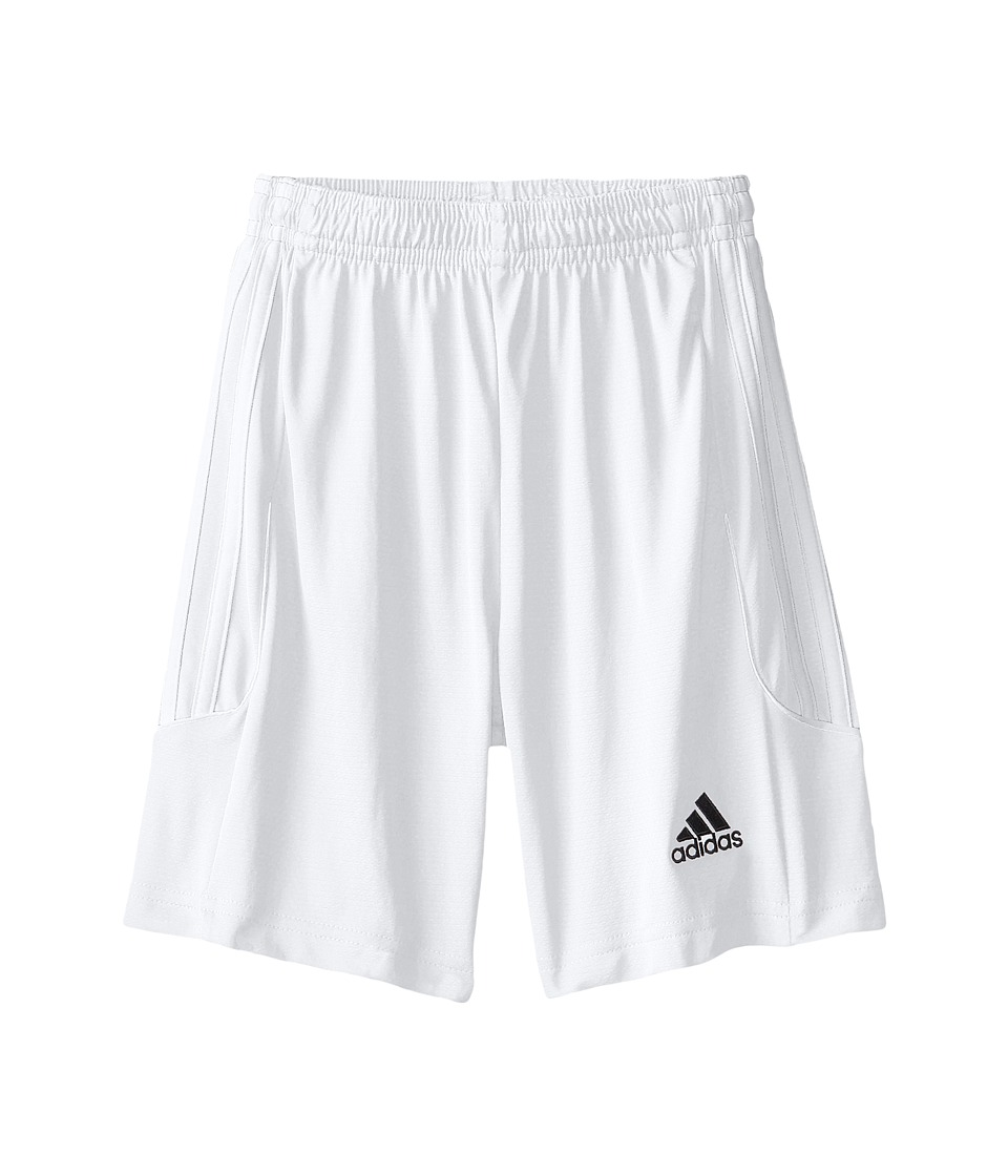 adidas Kids - Squad 13 Shorts (Little Kids/Big Kids) (White/White) Kid's Shorts