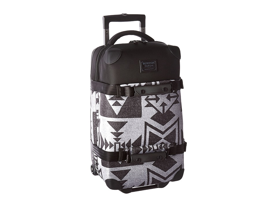 Burton - Wheelie Flight Deck (Neu Nordic Print) Carry on Luggage