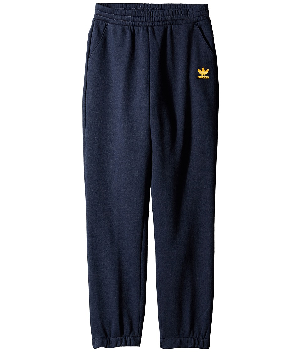 adidas Originals Kids - Sport Luxe Fleece Pants (Little Kids/Big Kids) (Legend Ink) Boy's Casual Pants