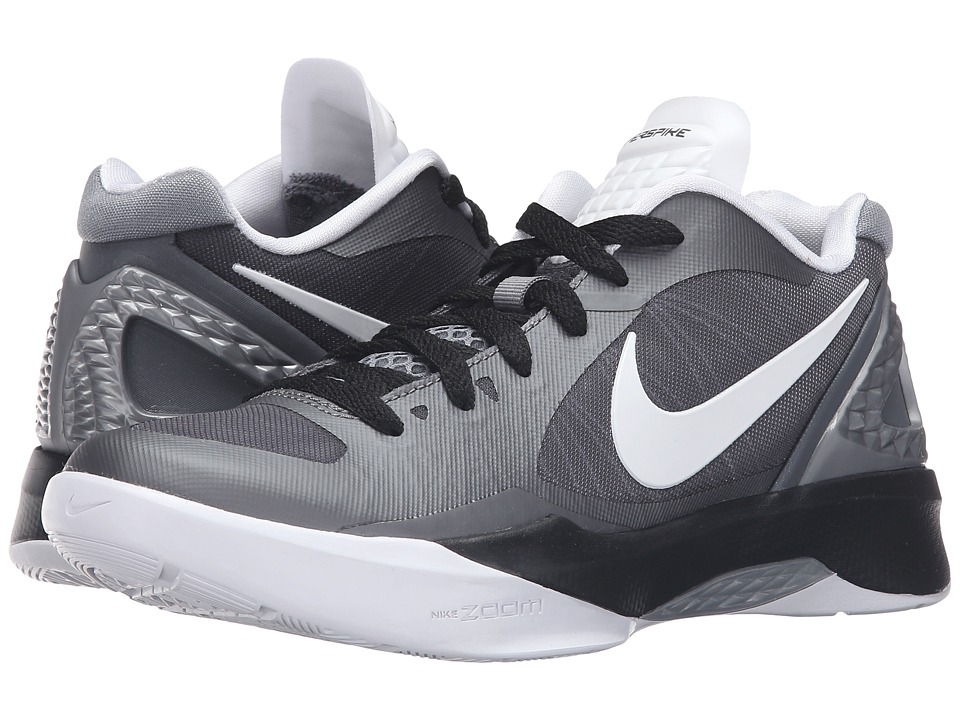 Nike - Volley Zoom Hyperspike (Cool Grey/Metallic Cool Grey/Black/White) Women's Volleyball Shoes
