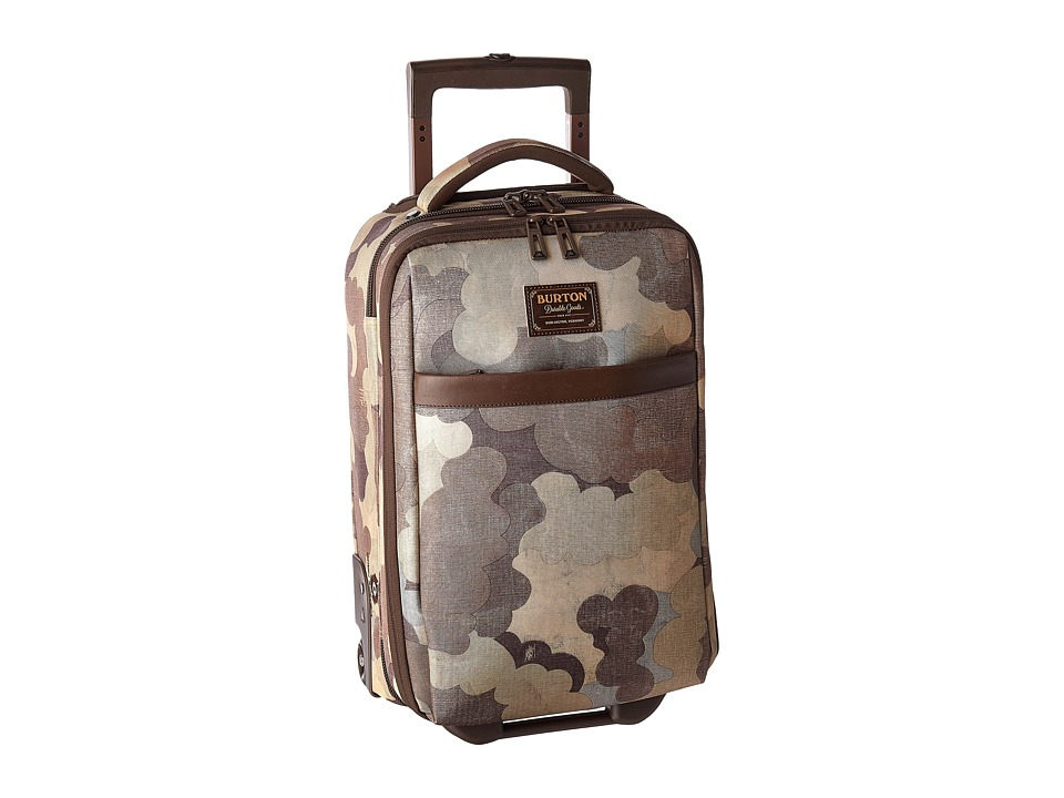 Burton - Wheelie Flyer (Storm Camo Print) Carry on Luggage