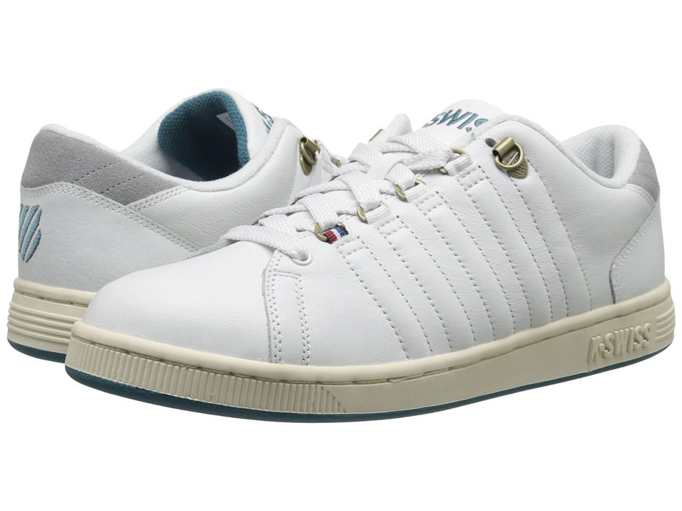 K-Swiss - Lozan III (Classic White/Neutral Grey/Colonial Blue) Men's Shoes