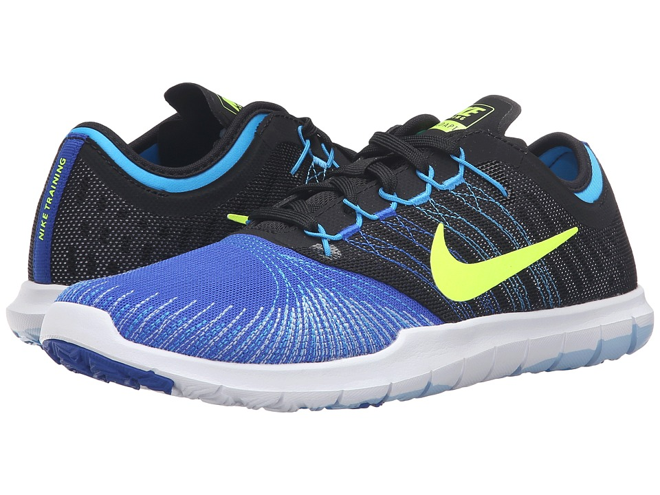 Nike - Flex Adapt TR (Racer Blue/Black/Blue Glow/Volt) Women's Cross Training Shoes