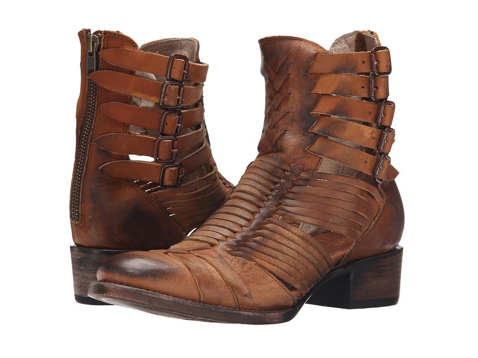 Freebird - Sally (Cognac) Women's Zip Boots