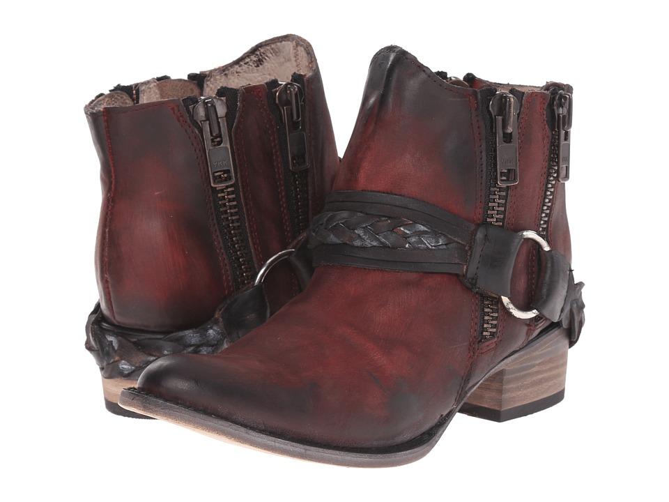 Freebird - Clash (Wine) Women's Zip Boots