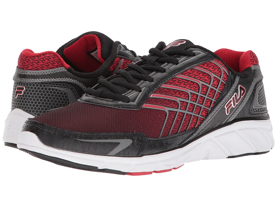 Fila Memory Core Callibration 3 (Black/Fila Red/Dark Silver) Men