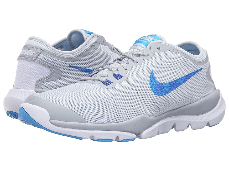 Nike - Flex Supreme TR 4 PR (Hyper Jade/Hyper Turquoise/Black/Metallic Silver) Women's Cross Training Shoes