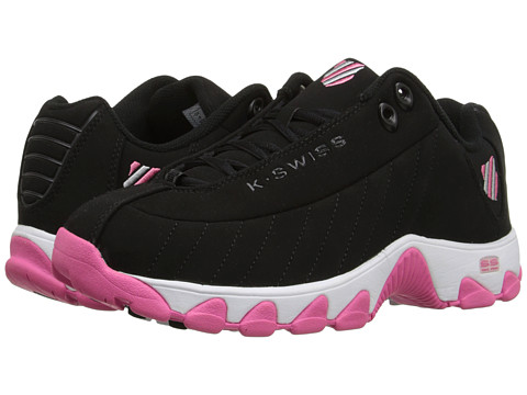 K-Swiss - ST 329 (Black/Pinkberry/White) Women