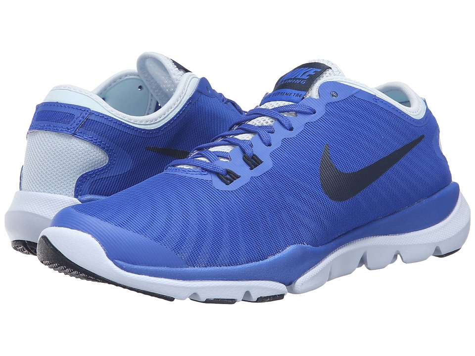 Nike - Flex Supreme TR4 (Racer Blue/Blue Tint/Obsidian) Women's Cross Training Shoes